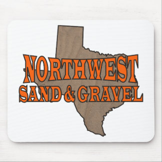 NorthWest Sand & Gravel: Formal Logo Mouse Pad