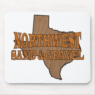 NorthWest Sand & Gravel Logo Mouse Pad