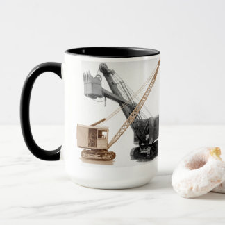 Northwest Shovel and Crane Vintage Equipment Mug
