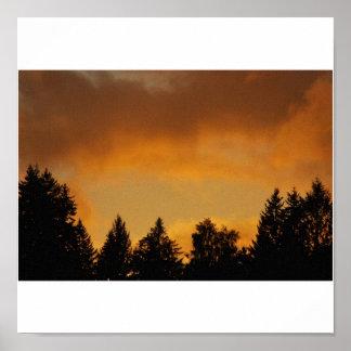 Northwest Sunset Poster