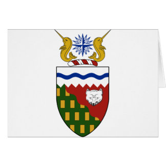 Northwest Territories (Canada) Coat of Arms Greeting Card