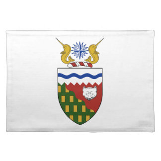 Northwest Territories (Canada) Coat of Arms Placemats