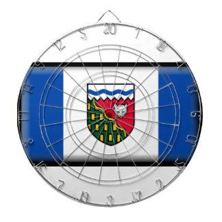 Northwest Territories (Canada) Flag Dart Board