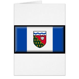 Northwest Territories (Canada) Flag Greeting Card