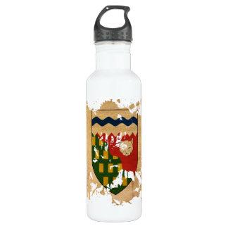 Northwest Territories Flag 710 Ml Water Bottle