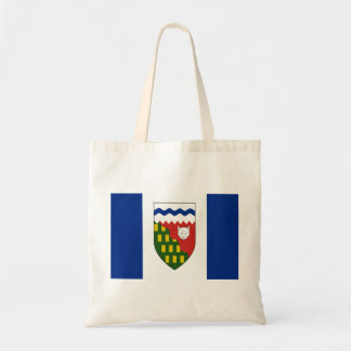 Northwest Territories Flag Budget Tote Bag