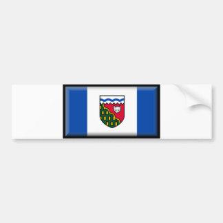 Northwest Territories Flag Bumper Stickers