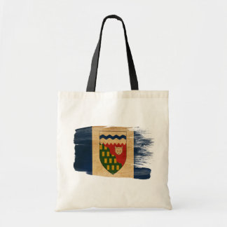 Northwest Territories Flag Canvas Bags