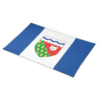 NORTHWEST TERRITORIES Flag Cloth Place Mat