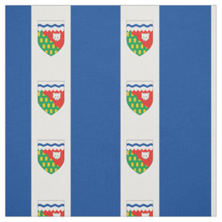 NORTHWEST TERRITORIES Flag Fabric