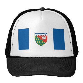 Northwest Territories flag Trucker Hats