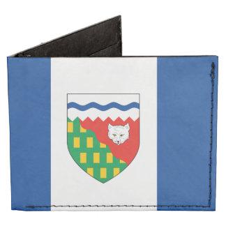 NORTHWEST TERRITORIES Flag Tyvek Wallet