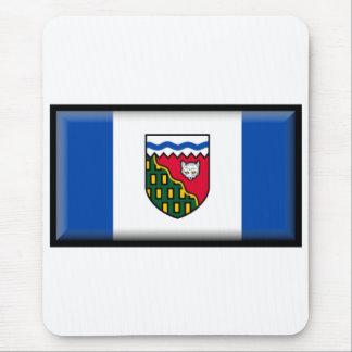 Northwest Territories Flag Mouse Pad