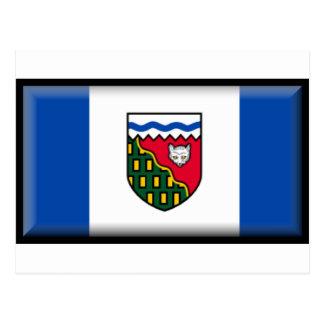 Northwest Territories Flag Post Card