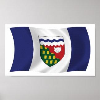 Northwest Territories Flag Poster Print
