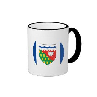 NORTHWEST TERRITORIES Flag Ringer Mug