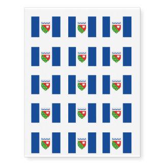 NORTHWEST TERRITORIES Flag Temporary Tattoos