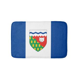 NORTHWEST TERRITORIES Flag Bath Mats
