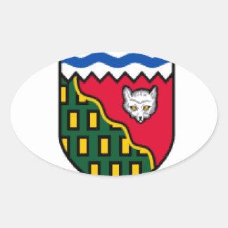 Northwest Territories Oval Sticker