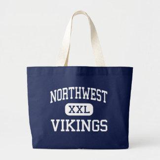 Northwest Vikings Middle Reading Jumbo Tote Bag