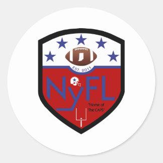 Northwest Youth Football League NyFL Round Sticker