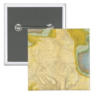 Northwestern Colorado and part of Utah 15 Cm Square Badge