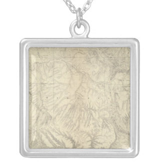 Northwestern Colorado and part of Utah 2 Silver Plated Necklace