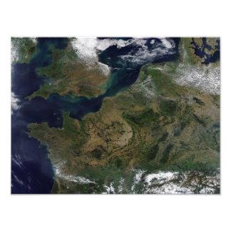 Northwestern Europe Photo Print