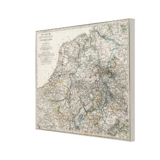 Northwestern Germany and the Netherlands Canvas Print
