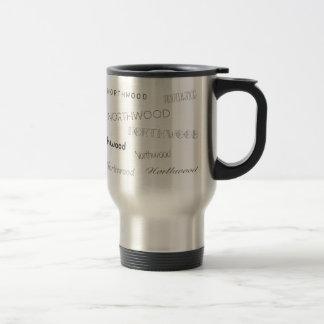 Northwood Fonts Travel Mug