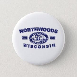 Northwoods-Distressed-[Conv 6 Cm Round Badge