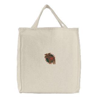 Northwoods Moose Embroidered Bag