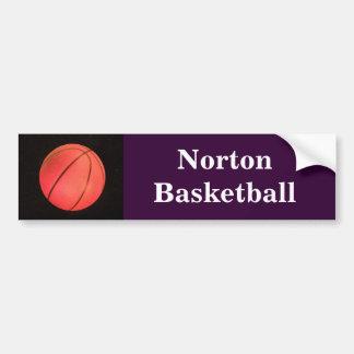 Norton Basketball Bumper Sticker Car Bumper Sticker