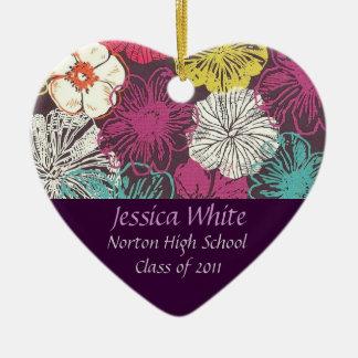 Norton Class of 2011 Heart Keepsake Ceramic Heart Decoration