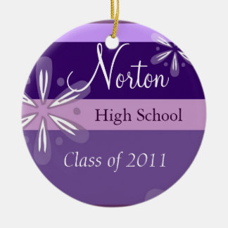Norton Floral Class of 2011 Keepsake Christmas Ornament