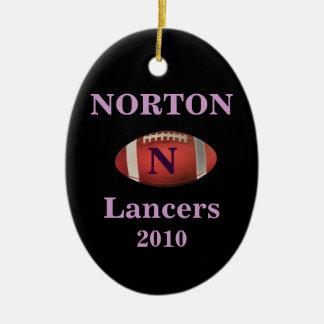 Norton Lancers 2010 Ornament