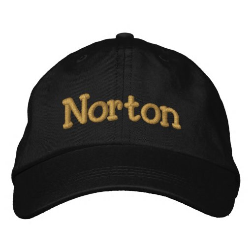 Norton Personalised Baseball Cap / Hat
