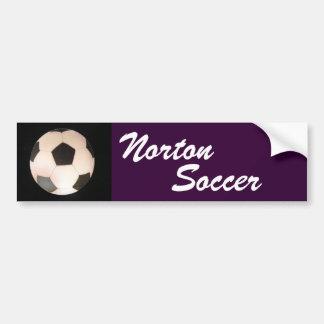 Norton Soccer Bumper Sticker