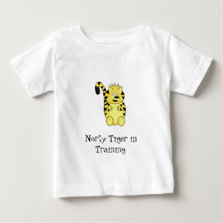 Norty Tiger in Training Tots T-shirt