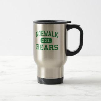 Norwalk - Bears - High - Norwalk Connecticut Travel Mug