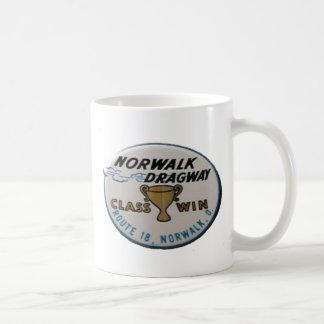 Norwalk Dragway Basic White Mug