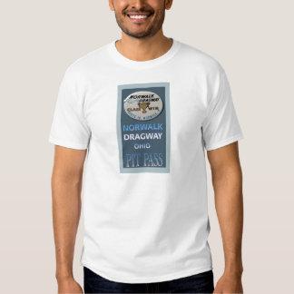 Norwalk Dragway Pit Pass Shirts