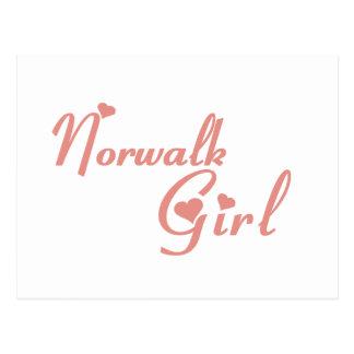 Norwalk Girl tee shirts Postcards