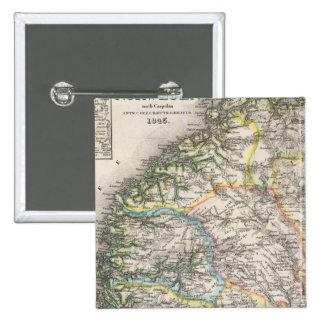 Norway 15 Cm Square Badge