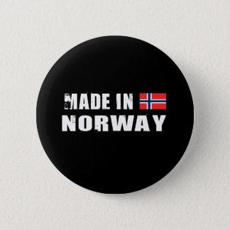 NORWAY 6 CM ROUND BADGE