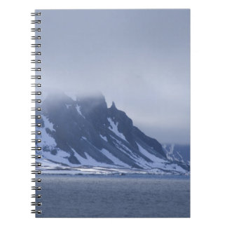 Norway, Arctic Circle, North Atlantic Ocean. Notebook