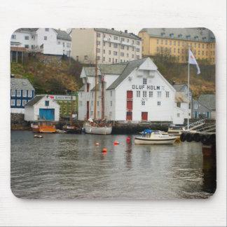 Norway, Bergen, Boatyard and Marina Mouse Mat