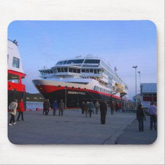 Norway, Bergen, cruise ship Mouse Mat