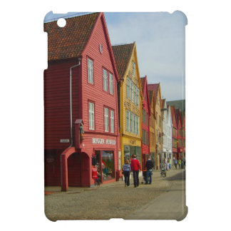Norway Bergen painted houses on the waterfront Case For The iPad Mini