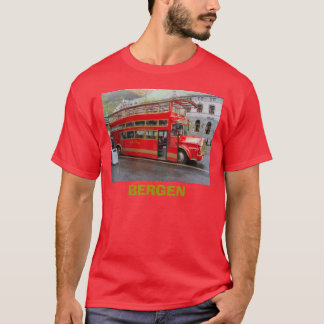 Norway, Bergen, tourist bus T-Shirt